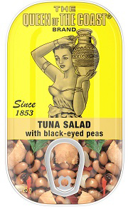 The Queen of The Coast® Brand Tuna Salad with black-eyed peas