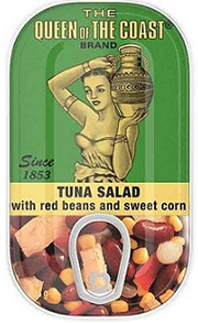 Tuna Salad with Red Beans and Sweet Corn