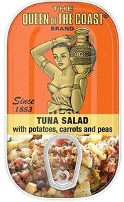The Queen of The Coast® Brand Tuna Salad with potatoes, carrots and peas
