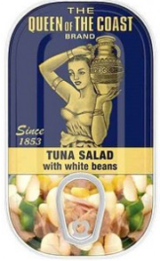The Queen of The Coast® Brand Tuna Salad with white beans