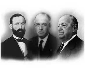 Sebastian Ramirez, Manuel Ramirez and Emilio Ramirez, founders of the Ramirez Cannery