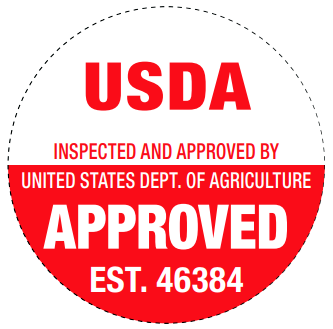 USDA Inspected and Approved Seal