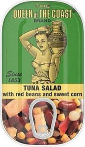 Tuna Salad with Kidney Beans and Sweet Corn