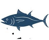 Image of Blue Fish Icon